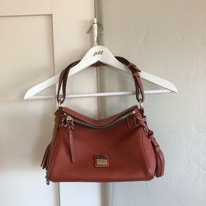 🍁 euc | dooney & boorke | leather mini satchel